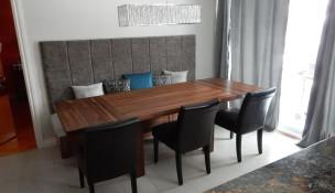 Table en bois avec extension