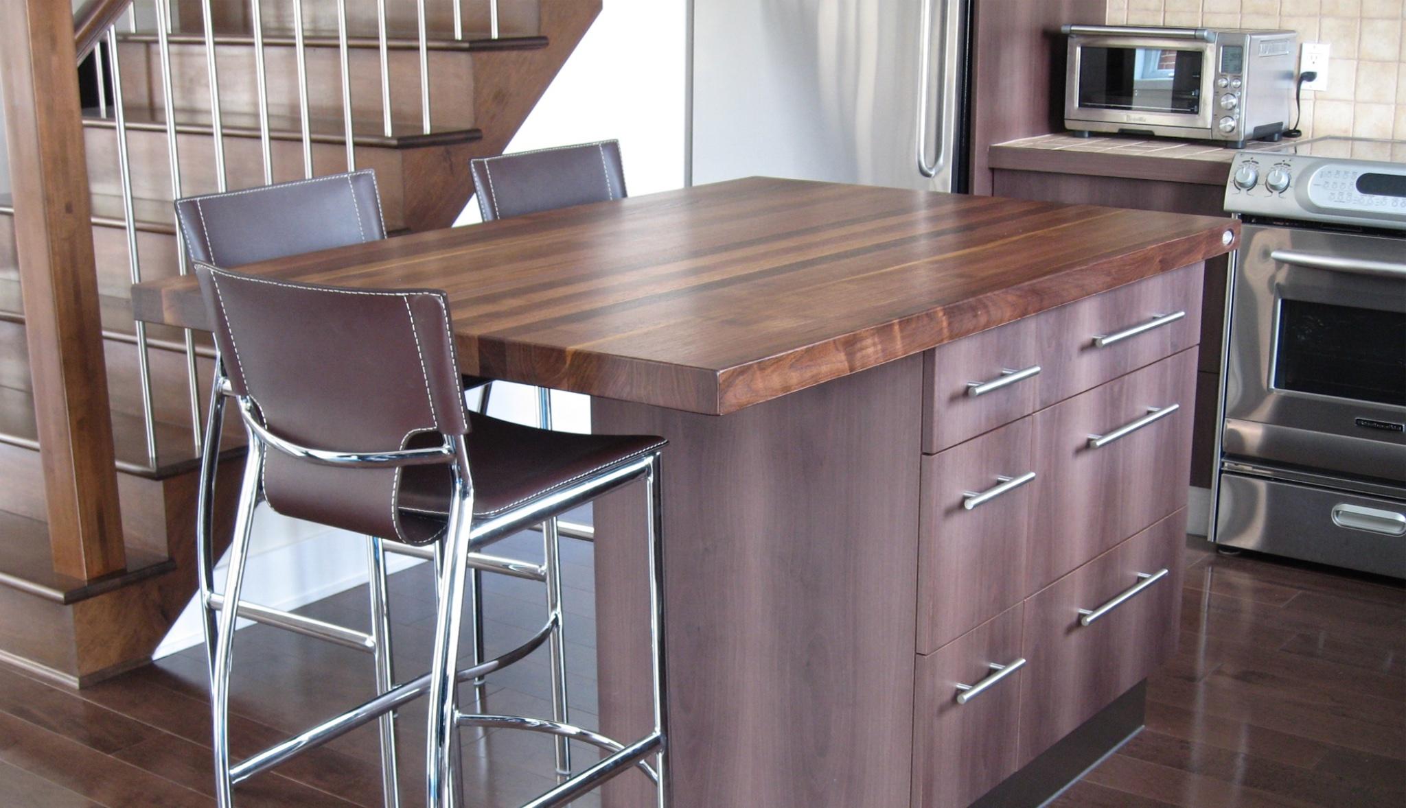 comptoirs en bois signature st phane dion. Black Bedroom Furniture Sets. Home Design Ideas