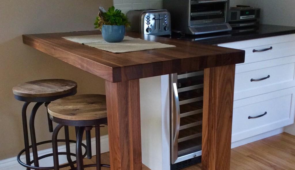 Comptoirs en bois РSignature St̩phane Dion