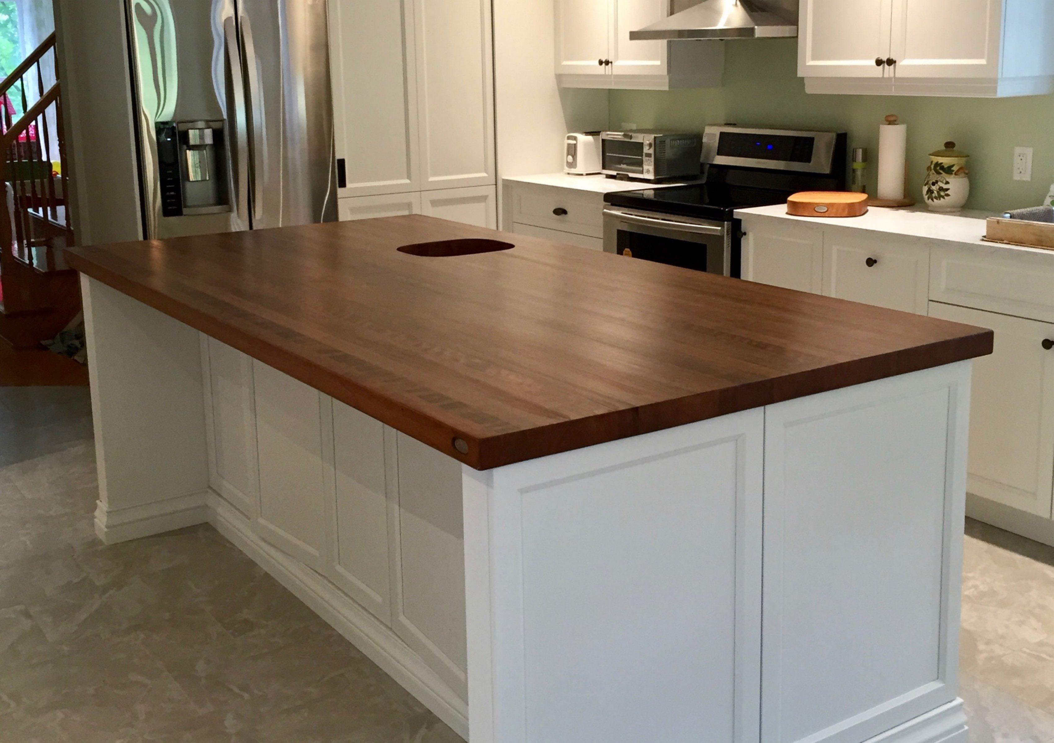Fabriquer Un Bar En Bois table en bois, comptoir, bloc de boucher et ilôt de cuisine