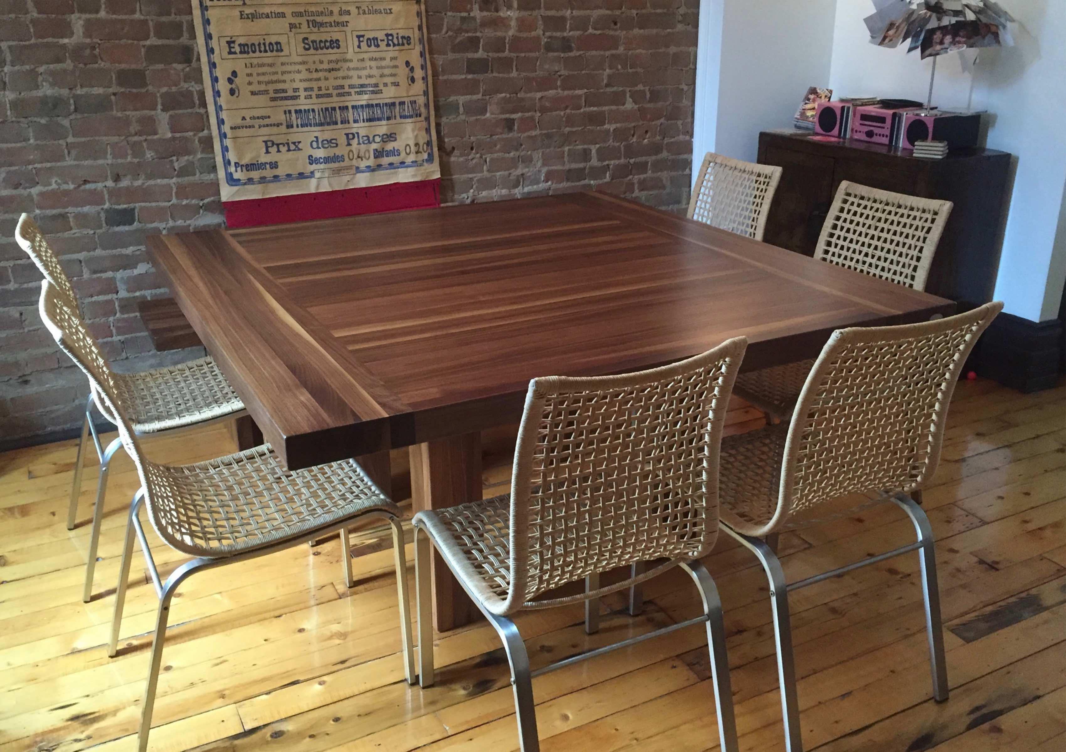 Table Banc De Cuisine table en bois, comptoir, bloc de boucher et ilôt de cuisine